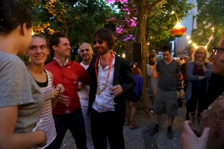 Abschiedsfest Christa Näher & Simon Starling, Foto: NN, 2013
