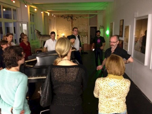 Studio visit with Douglas Gordon, 2013, photo: Städelschule