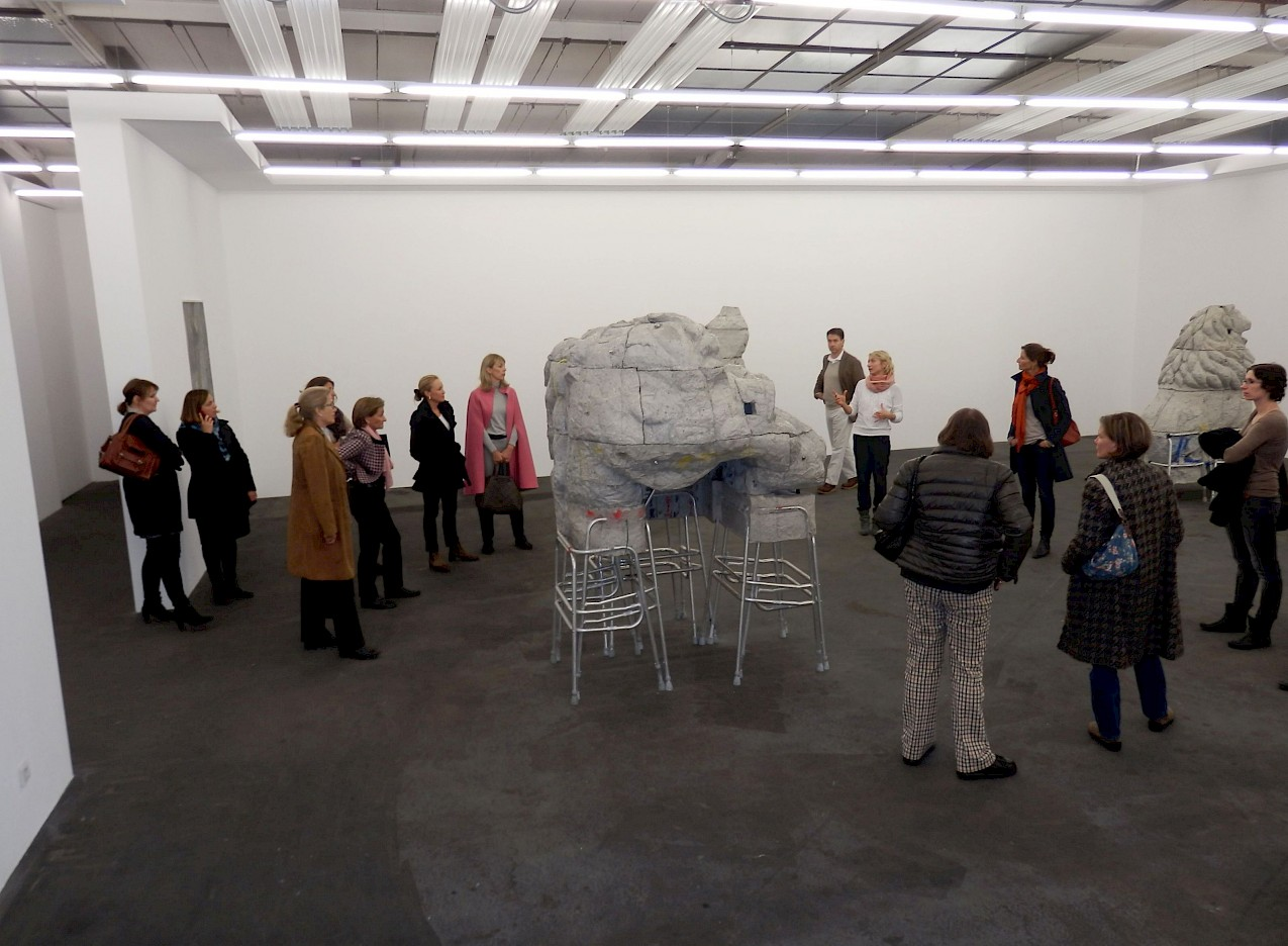 Vereinsreise Berlin, Galerie Johann König, photo: NN, 2013