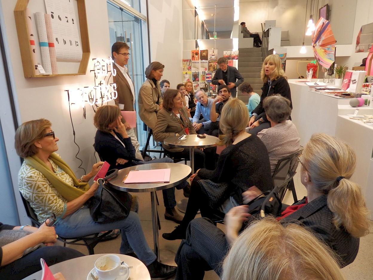 Association trip to Berlin, Deutsche Guggenheim, 2013, photo: Städelschule