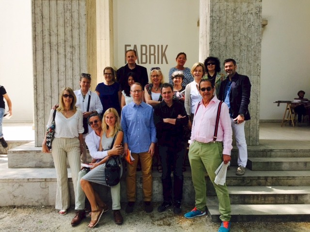 Association trip to  Venedig Biennale, photo: NN, 2015