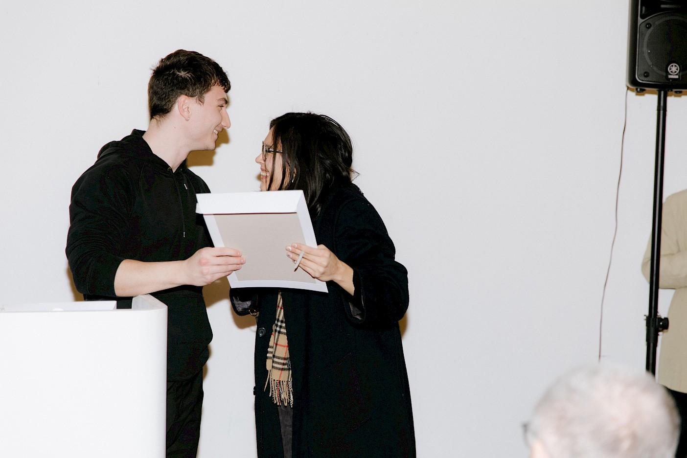 Maïly Beyrens erhält den Filigran Preis