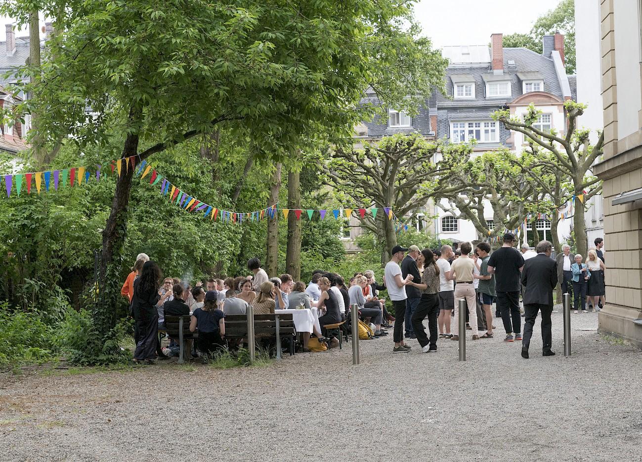 Jubiläum 200 Jahre Städelschule, Foto: Wolfgang Günzel, 2017