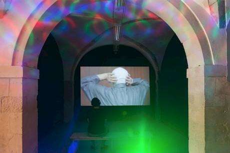 Lawrence Abu Hamdan The All-Hearing installation view at LaVeronica Arte Contemporanea, Sicily