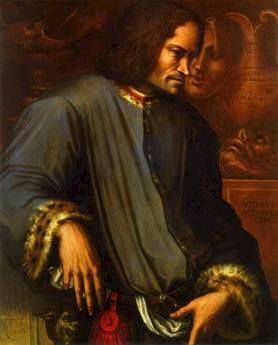 Giorgio Vasari (1511-1574), Portrait of Lorenzo the Magnificent, Galleria degli Uffizi, Florence