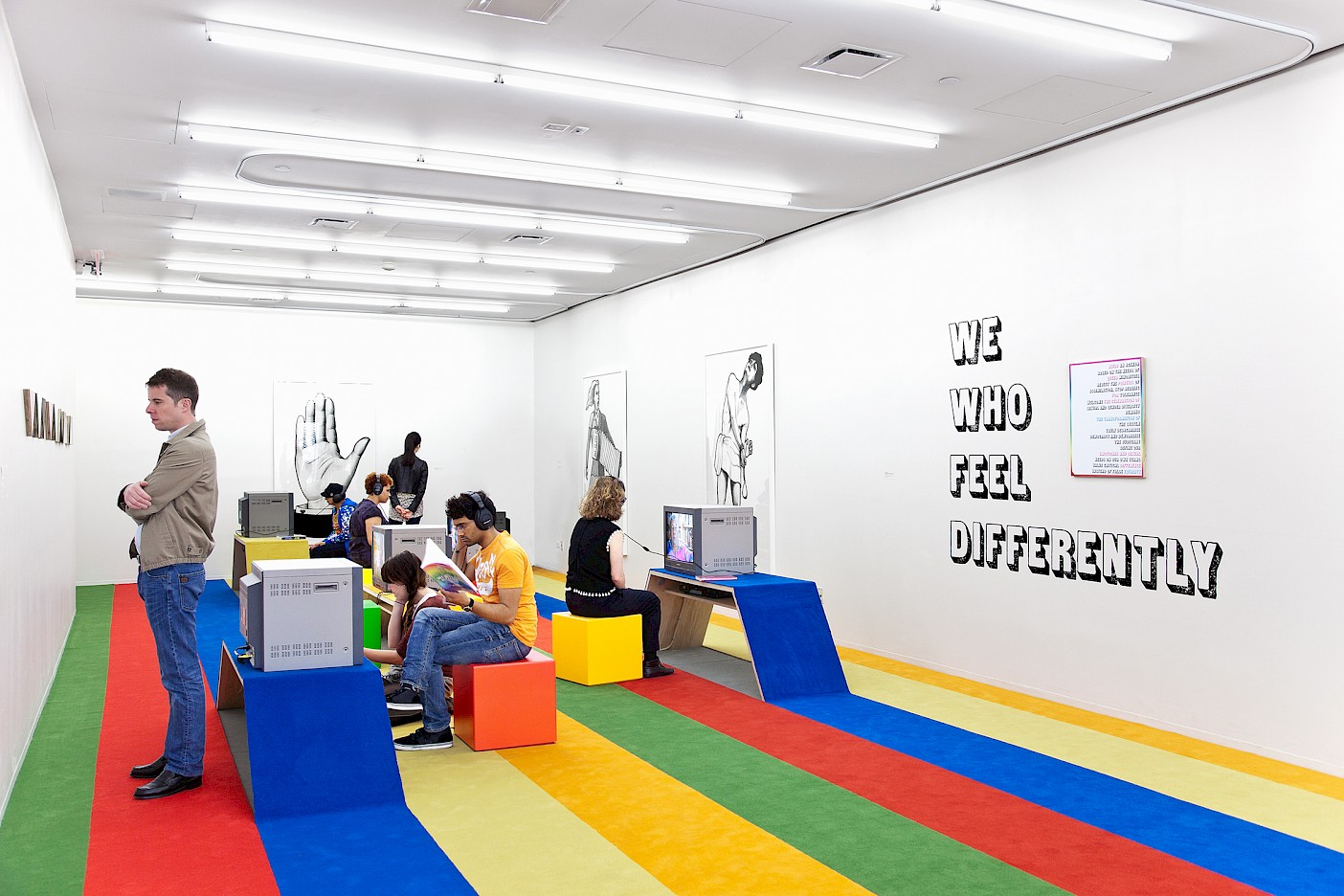 We Who Feel Differently, 2012 installation view at New Museum, New York. Photo by Naho Kubota