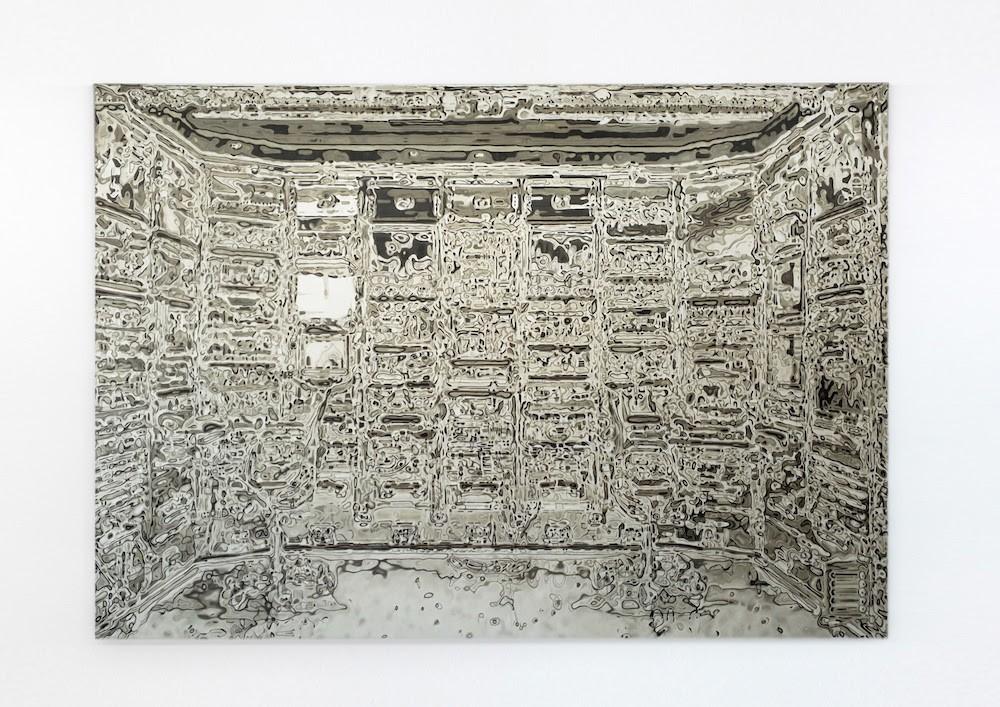 J-A, 2018 Öl auf Leinwand 190 x 287 cm