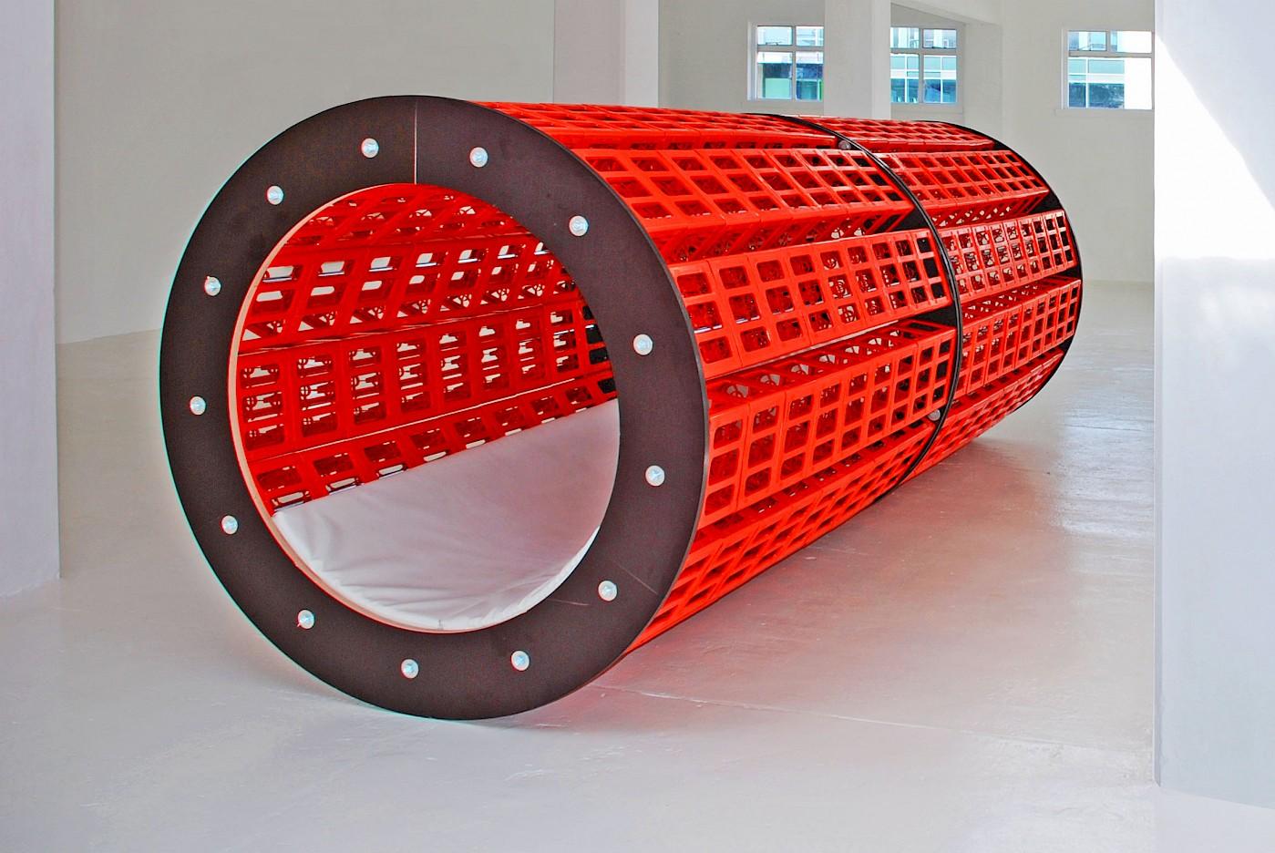 Winter/Hoerbelt, Red Tube, 2016 © VG Bild-Kunst, Bonn 2019