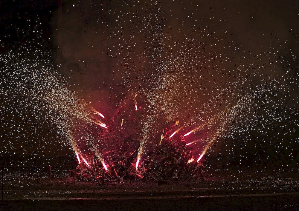 Sandra Kranich FIREWORK 8.6.2012, 23.9.2012, Art and the City, Zuerich, Swiss, 2012