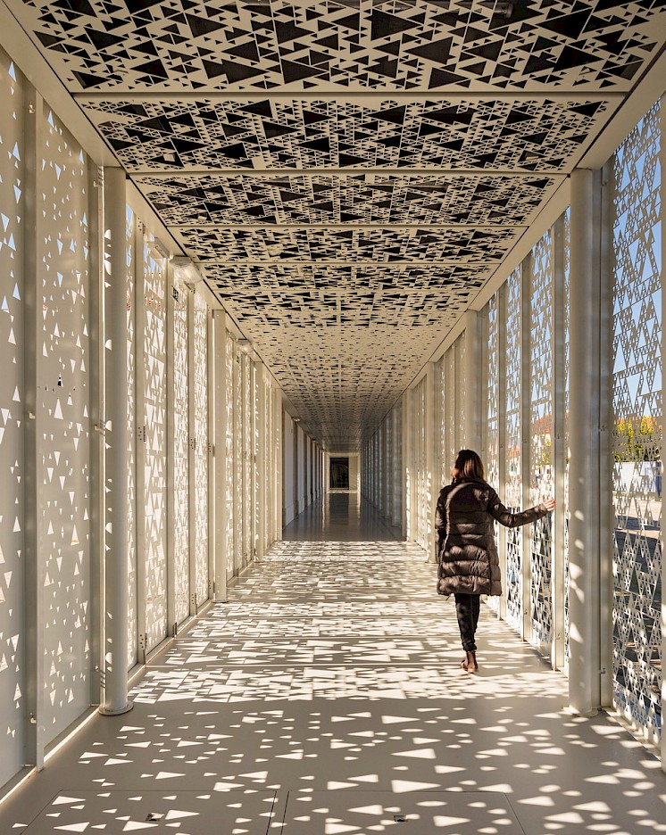 Meghalitic Museum, Mora, Portugal, Photo: Fernando Guerra | FG + SG
