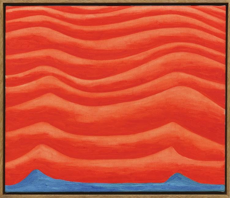 Michael Pfrommer, Ohne Titel, 2019, Öl auf Leinwand, 46 x 53,5 cm
