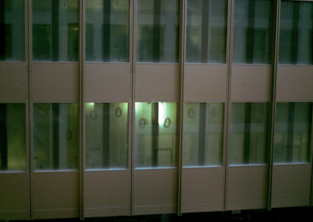 Rosario Aninat, Office Building, 2020, 35 mm analogue photograph, © and courtesy of the artist and L187