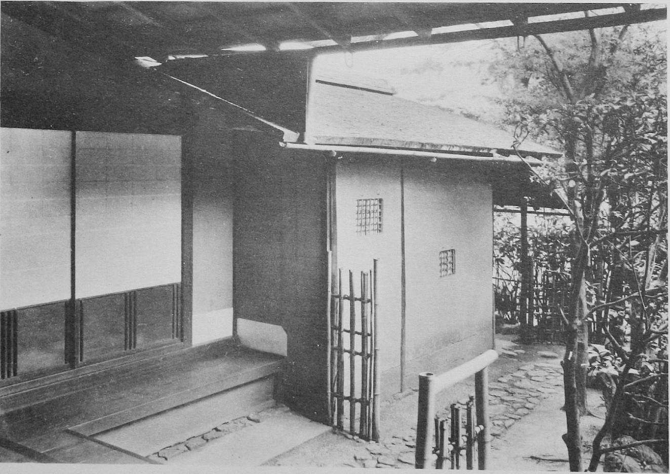 Tai-an chashitsu in Myokian, Kyoto, Japan, photo: Culture Relics Foundation, Tokyo.