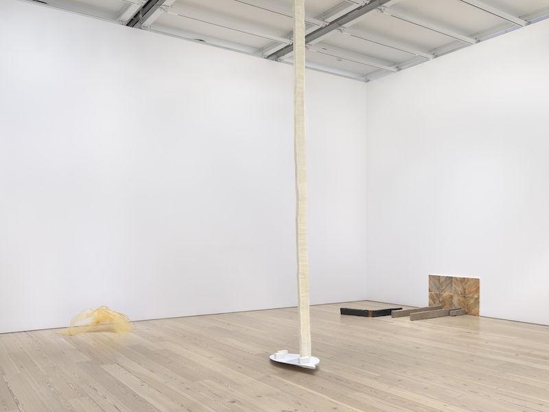 Olga Balema, installation view Whitney Biennial 2019, Whitney Museum of American Art, New York, 2019, photo: Ron Amstutz.