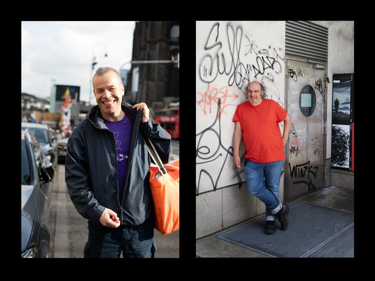 Wolfgang Tillmans Foto © Daniel Buchholz; Matthias Lilienthal Foto © Judith Buss