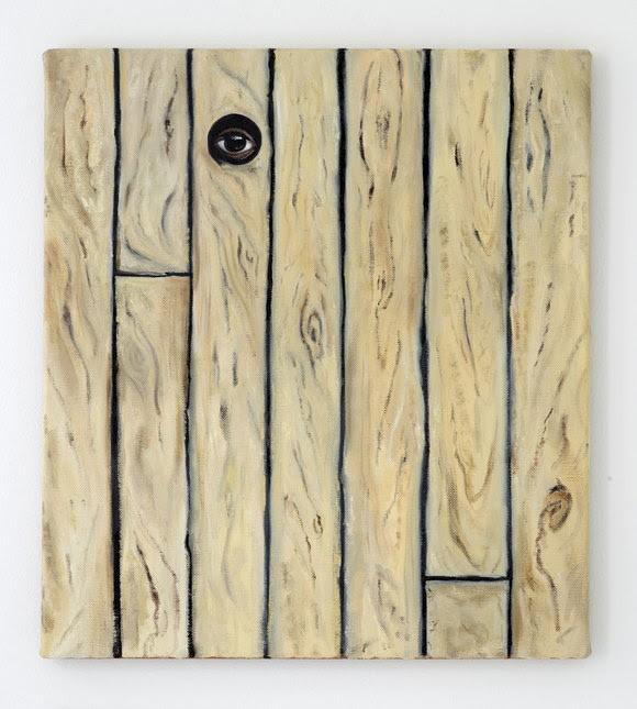Bradley Davies: ›Would I‹, 2020, Öl auf Leinen, 50 x 45 cm, Courtesy Clages Galerie und Bradley Davies, Foto: Simon Vogel