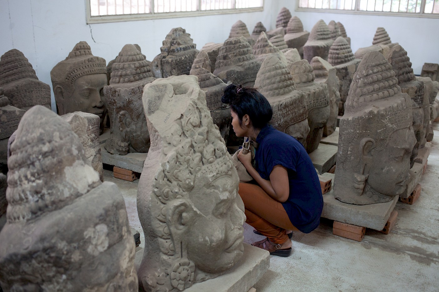 FIELDS: an itinerant inquiry across the Kingdom of Cambodia, December 2013, photo: Lim Sokchanlina