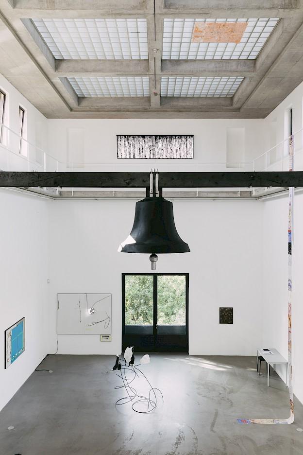 L'Esprit, 2020, Portikus, photo: Eike Walkenhorst